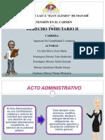 Acto Administrativo Exposicion Grupo 4