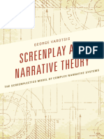 Screenplay and Narrative Theory - George Varotsis.epub