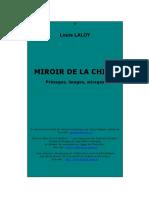 LALOY Louis, Miroir de la Chine. Présages, images, mirages