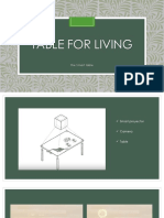 Table for Living INGLES