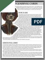 Faction Journal Cards - Season 7
