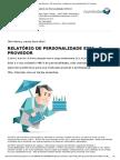Marcia Dias - Relatório de Personalidade ESFJ (O Provedor)