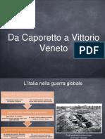Da Caporetto a Vittorio Veneto Slide