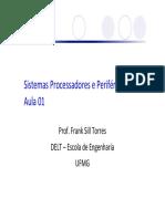 SPP Aula01 Introducao Microprocessadores