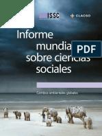 Informe Mundial Sobre Ciencias Sociales-Cambio Ambientales Globales-UNESCO-CLACSO-2013-Libro
