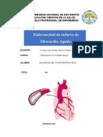 pae de infarto de miocardio