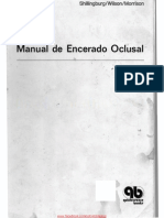 Manual Encerado Oclusal