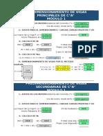 Predimensionamiento de Vigas P-S MOD1
