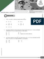 Guía 24 MT-22 Ubicacion Puntos Distancia y Longitudes en Plano Cartesiano