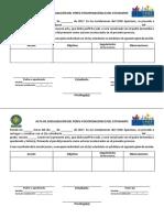 Acta de Socialización y Acuerdos (Preliminar)