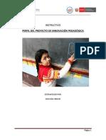 INSTRUCTIVO PARA EL DISEÑO DE PROYECTOS 2014.pdf