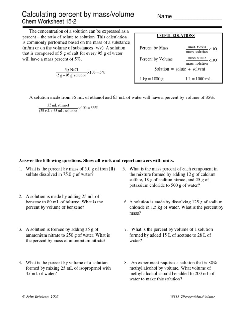 15-2bPercent.pdf | Solution | Sodium Chloride