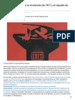 Toussaint, Eric. de La Rusia Zarista a La Revolución de 1917 y Al Repudio de Las Deudas