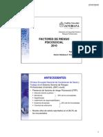 Gloria Villalobos. 2010. Factores de Riesgo Psicosocial. Pontificia Universidad Javeriana