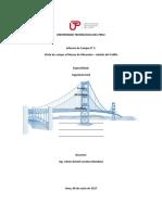 Estructura de Informe de Visita a Museo de Mineralogía - Andrés Del Castillo - Geologia