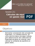 S21 CP Keq Con Gases Reales -Kf