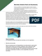 Historia de La Marimba Símbolo Patrio de Guatemala