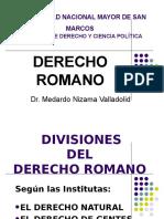 DERECHO ROMANO - Medarno Nizama Valladolid.ppt