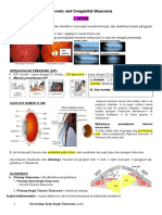 Chronic Glaucoma and Congenital Glaucoma
