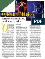 Reportagem O Teatro Mágico - Revista ZZZ