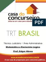 Apostila Trt Brasil Matematicaeraciociniologico Edgarabreu