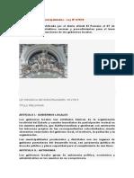 Ley Orgánica de Municipalidades Expo