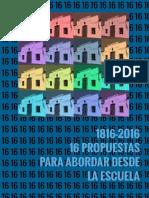 Propuestas para abordar desde la escuela 1816-2016.pdf