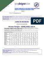 Bronze Flanges - ASMEANSI 300lb