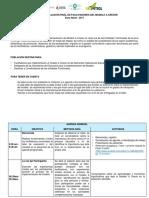 Agenda Del Taller de Evaluación a Crecer (1)