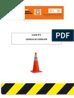 Clase 3 Licencia de Conducir