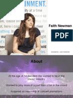 faith newman