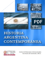 Historia Argentina Contemporánea