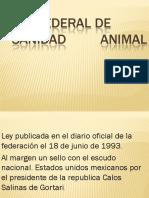 3. Ley Federal de Sanidad Animal