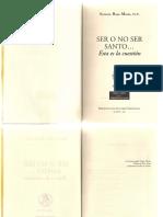 ROYO MARÍN, Antonio - Ser o No Ser Santo- 113 Pag