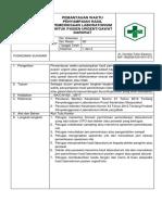 46. Sop 8.1.3 Ep 2 Pemantauan Waktu Penyampaian Hasil Pemeriksaan Laboratorium Untuk Pasien Urgent_gawat Darurat Puskesmas Sukasari