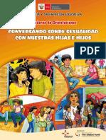 Cuaderno Orientaciones Conversando Sobre Sexualidad Con Nuestras Hijas Hijos