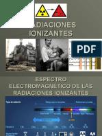 (10) Radiaciones Ionizantes. Presentacion