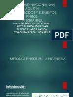 Metodos Finitos en La Ingenieria Grupo 12