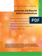 IMF - Virtual Currencies and Beyond
