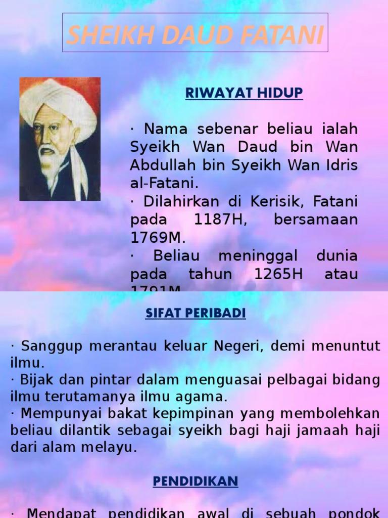 Sheikh Daud Fatani