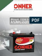 Manual Tecnico Acumuladores Baterias Gonher Fabricacion Funcionamiento Fallas Componentes Pruebas Carga