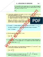 Mathematics Derivatives Elaborate