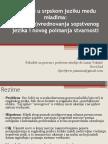 Engleski u srpskom jeziku među mladima, Niš, april, 2012.ppt