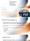 The Role of Emotional Intellegence on Workplace Attitudes