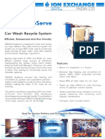 Carwash Recycle Syatem