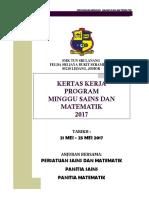 Minggu Sains Dan Math 2017