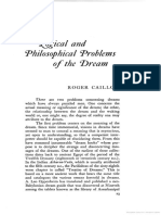 R. Caillois - Logical and Philosophical Problems of the Dream