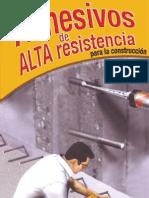 Adhesivos de Alta Resist en CIA Para La Construccion