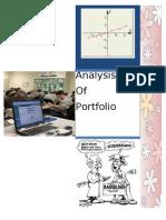 Analysing Portfolio of Stocks