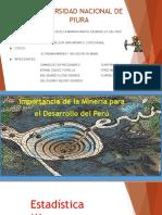 Importancia de La Mineria - TRABAJO